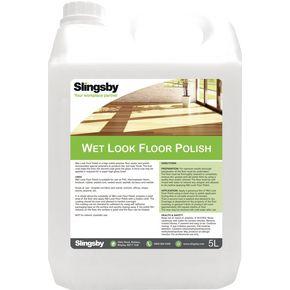 Wet look floor polish 2 x 5L