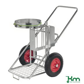 Street cleaning trolley