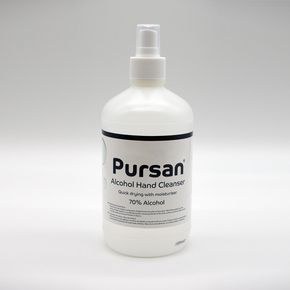 Premium alcohol hand cleanser and surface sanitiser - 8 x 500ml