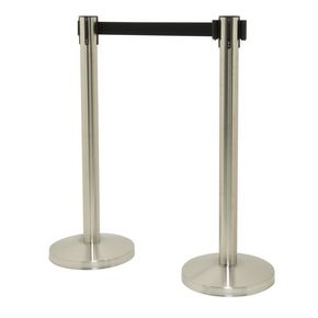 Budget retractable barrier - set of 2