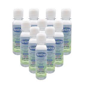 Anti bacterial alcohol hand gel 100ml, 10 pack