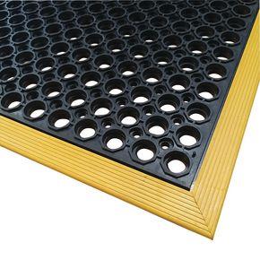 Social distancing workstation safety mats