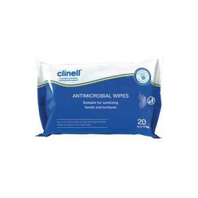 Clinell Antimicrobial Wipes