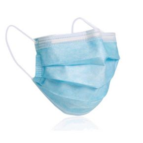 Disposable 3-ply face masks - 5 pack