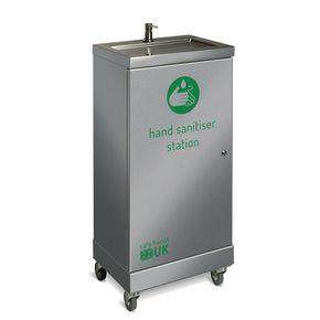Stainless steel hand sanitiser station (Senior)