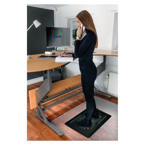 Anti-fatigue active sit/stand desk mat, 500 x 800mm