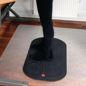 Anti-fatigue active sit/stand desk mat, 500 x 1000mm