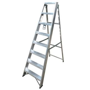 Heavy duty EN-131-Professional aluminium swingback steps