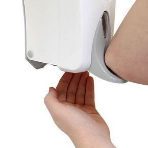 1L Elbow operated soap dispenser