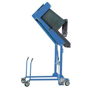 Wheelie bin tipping stations