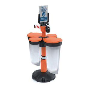 Skipper™ Safety Station (wash/waste/ppe)