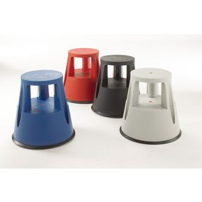 Plastic mobile safety step stool