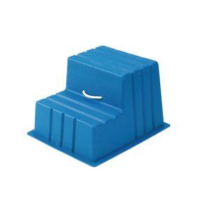 Lightweight plastic static steps