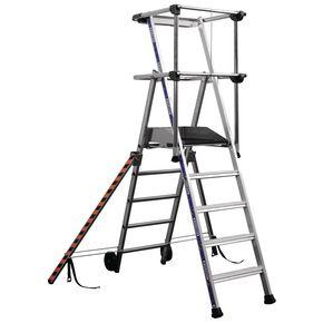 Fixed height work platform