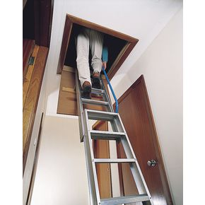 Premium two section aluminium loft ladder