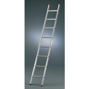 Aluminium box section ladders - Single section