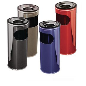 Combined ash/litter bins