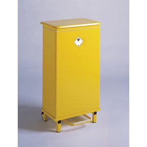 Fire retardant clinical waste sackholder