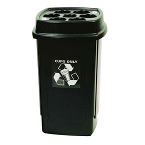 Disposable cup bins