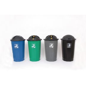 Recycling bank system