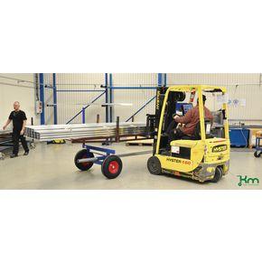 Konga extra heavy duty long load towing trailers