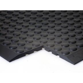Anti-fatigue rubber bubblemat