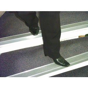 Aluminium nosings - H x W: 30 x 70mm