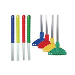 Kentucky colour coded mop and handle
