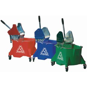 Colour coded mop wringer - heavy duty