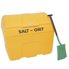 Heavy duty plastic salt & grit bins