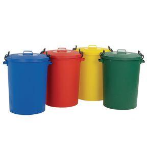 Light duty 110L dustbins