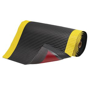 Heavy duty anti-fatigue industrial foam matting with non slip backing
