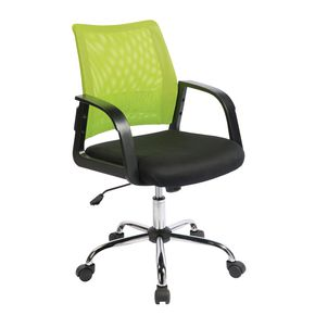 Coloured back mesh operator chairs