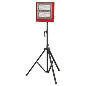 Ceramic heater and stand