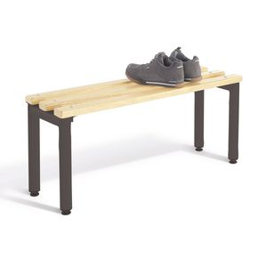 Round tube standard cloakroom bench