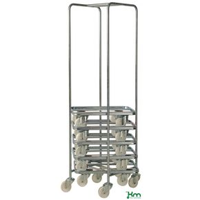 Konga electro galvanised dolly and dolly stand