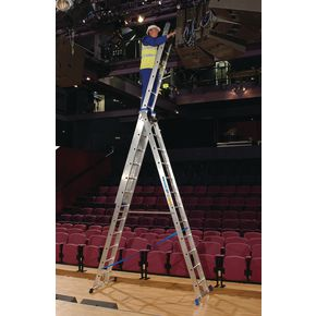Skymaster large 3-section combination ladders