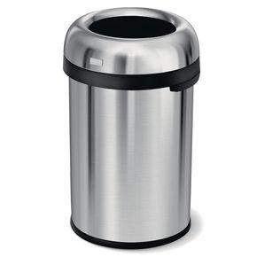 Simplehuman extra large bullet open top rubbish bin