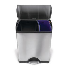 46 litre rectangular waste bin