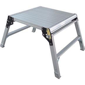 Folding square aluminium work platforms