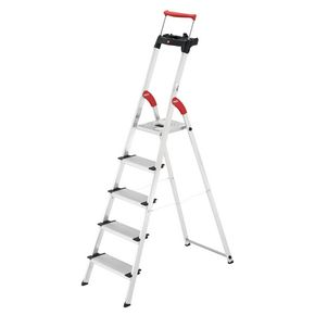 Hailo extra deep tread aluminium platform steps