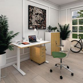 Elev8 Mono sit-stand single desks