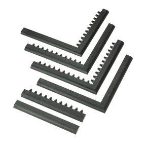 Bevel-edges for 23mm thick entrance mat tiles