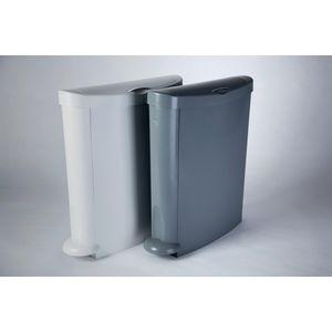 Slimline sanitary bin