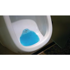 P-wave urinal screens