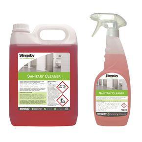Sanitary cleaner Pk 2 x 5L or 6 x 750ml