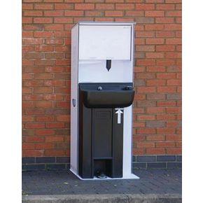 Floorstanding handwash station