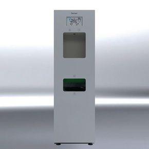 Encased automatic handwash station
