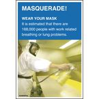 Safety posters - Masquerade - wear your mask