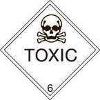 Iata/icao (labels in rolls with class numbers) - Toxic